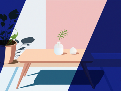 housrhold 02 typography web ui ux illustration design