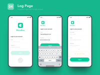 04 log page