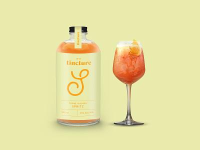 Tincture — Spritz packaging design typography spritz bottled cocktails cocktails packaging