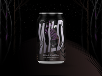 Wild Brewing Co. Black Panther