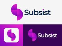 Subsist Company Logo Design