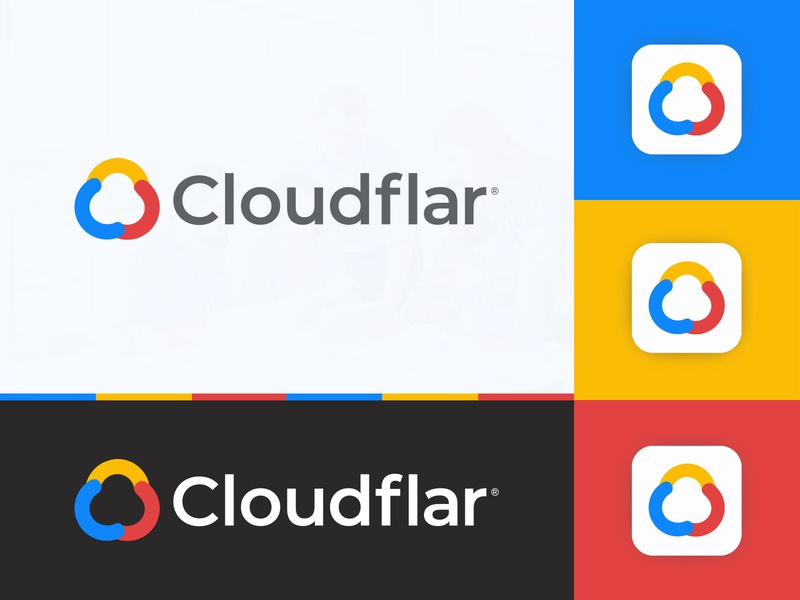 Cloudflar Logo Design app icon software consulting software modern hosting server cryptocurrency tech technology visual identity saymon studio c logo consulting cloud logo cloud bigdata finance fintech blockchain logo design