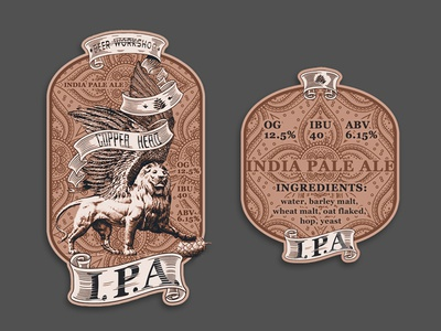 Craft beer #4  (I.P.A.) wing lion beer craft india-pale-ale ale pale india ipa