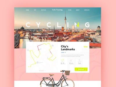 the Main page site web bicycles berlin city home cycling ui trip bike rent