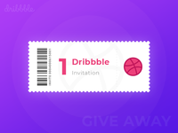 1 Dribbble Invitation