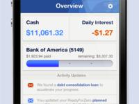 ReadyForZero iPhone App Overview