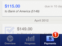 ReadyForZero iPhone App Payments