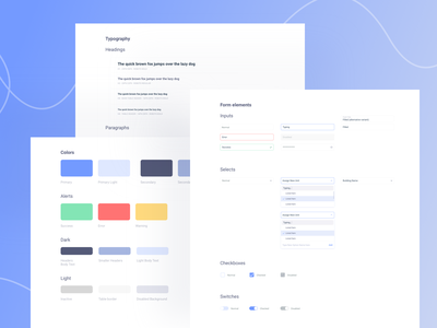 dashboard guidelines  ✨ forms checkboxes font elements typography form design dashboard
