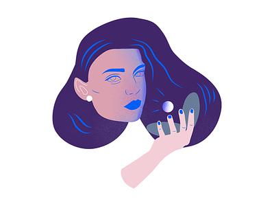 Pearls woman girl pearl