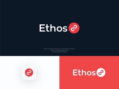 ethos 8 consulting business technology monogram symbol icon brand design branding design icon loop infinity 8 wordmarks branding logo design symbol lettermark wordmark