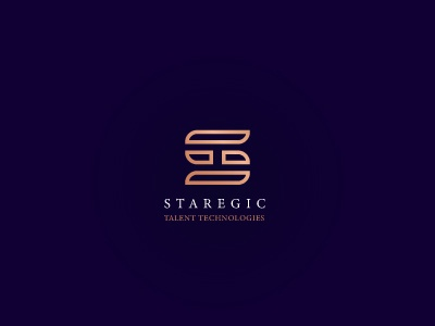 STAREGIC TALENT TECHNOLOGIES LOGO CONCEPT ts slogo wordmark wordart logoart design logodesign logo