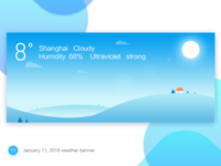 January 11, 2018 weather banner