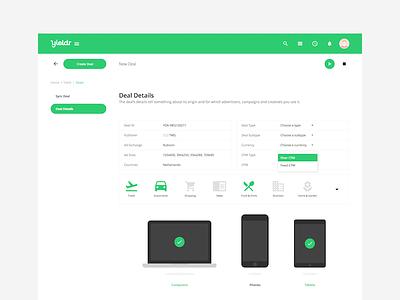 Deals v2 deals editor metadata devices laptop phone tablet ipad iphone macbook tags