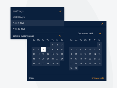 Datepicker query search filter dropdown select dates presets datepicker jf hillebrand myhillebrand
