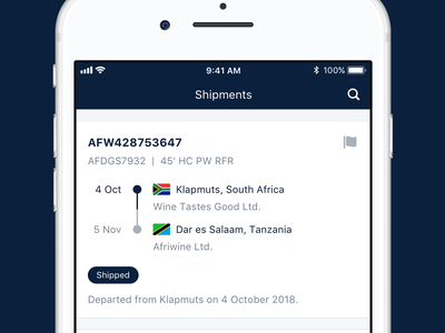 App Store Images app store freight forwarding freight notification events activity activity feed invoice timeline ui jf hillebrand myhillebrand mobile app apple icon mobile track and trace shipping iphone apple ios