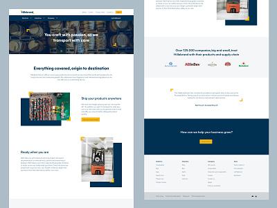 Hillebrand | Forwarding passion homepage myhillebrand design jf hillebrand website design rebrand website hillebrand