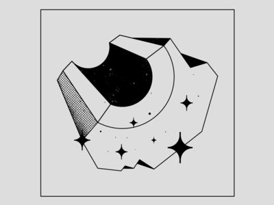 Graphite photoshop texture blackandwhite 2d graphite chernobyl hbo branding vector logo design flat illustration