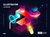 2.5D Illustrator