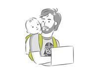 Team Member Illustration - Izrrael // Mobsuite