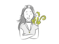 Team Member Illustration - Ana Carolina // Mobsuite