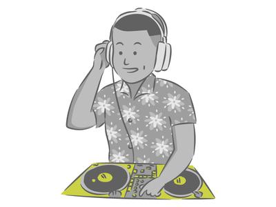 Team Member Illustration - Michael // Mobsuite