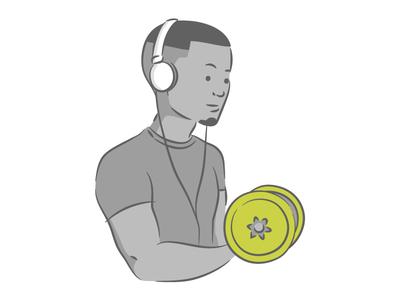 Team Member Illustration - Daniel // Mobsuite