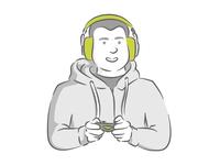 Team Member Illustration - Yocsel // Mobsuite