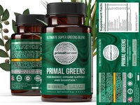 Package/label design for dietary supplement