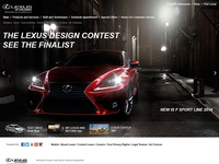 Lexus Design Website