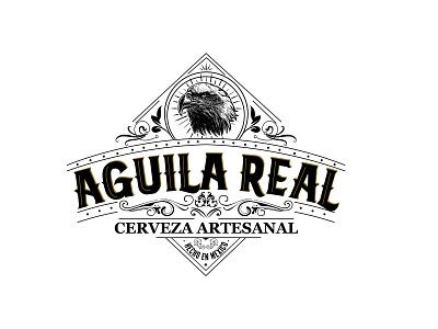 Aguila Real / Mexican Logo Design logo design beer design graphic design illustrator illustration mexican logo