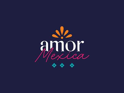 Amor Mexica / Mexican Logo Design illustrator illustration mexican art graphic design mexico mexican logo design logo