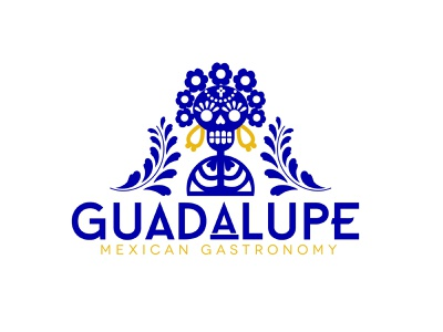 Guadalupe Mexican Gastronomy mexican restaurant food graphic design logo mexican mexico