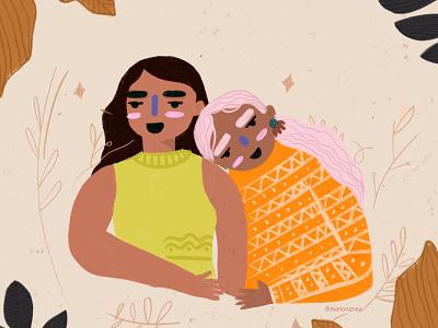 No matter who you are or who you love 🏳🌈 lgbtq print pride loveislove love girl colors procreate graphic design illustrator illustration