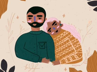 Love is love loveislove fall doodle colors girl colorfull procreate illustrator illustration
