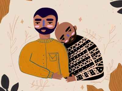 No matter who you are or who you love 🏳🌈 lovely prode2019 pride love loveislove cool flowers fall doodle colors colorfull procreate illustrator illustration