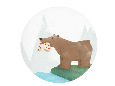 bear underwear illustration underwear bear