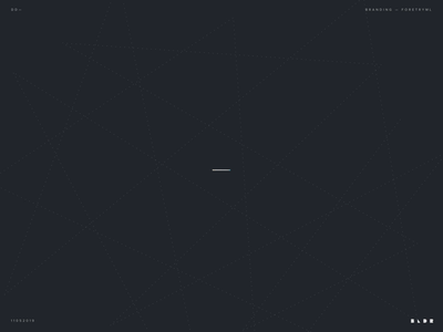 Forestry/ML logo animation ai black blue machinelearning logodesign animate logo branding minimal