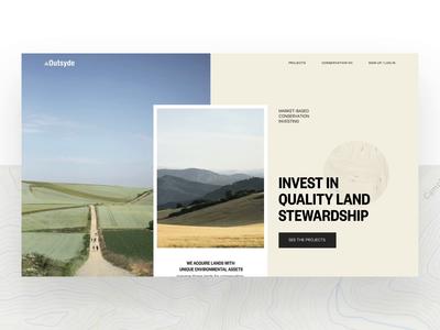 Marketing site concept