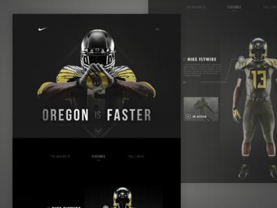 Oregon Nike Partnership