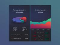 Server iOS Screens