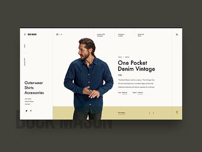 Shopping Detail Minimal Layout ecommence shop minimal grid layout web ui