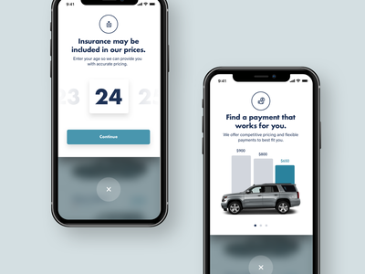 Automotive Pulldown Options pulldown ios graph cars interaction layout ui