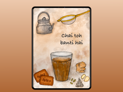 For chai lovers..