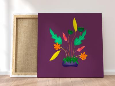 Colorful Plant- iPad Pro