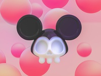 Dead mickey mouse 3d disney arthouse mickey mouse