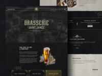 Brasserie St. James web UI