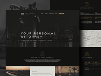 MCM Attorney's Homepage Design