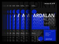 Ardalan Poster Design