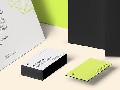 Cannavative Stationery Design stationery design identity branding