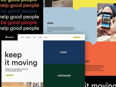 Colorful web UI modern ui  ux ui tech grid swiss bauhaus color layout typogaphy web design